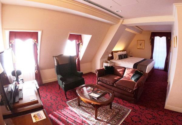 神戸北野ホテル デラックスダブル 客室