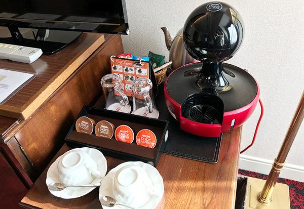 神戸北野ホテル コーヒーメーカー ネスカフェ ドルチェ グスト