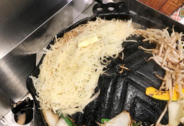 らむ屋 岩本 堪能コース ジャガイモ バター