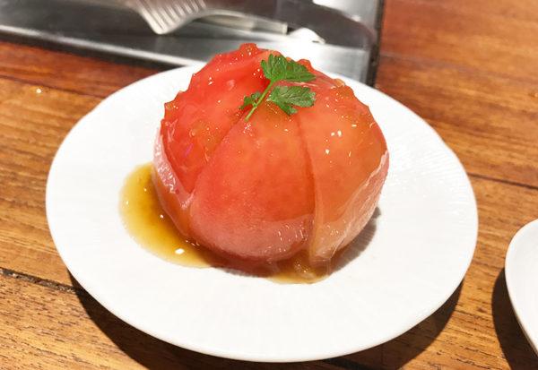 らむ屋 岩本 堪能コース ジンギスカン トマトサラダ