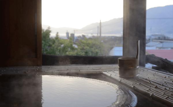 小豆島 島宿 真里 特別室 おの間 自家源泉 天然温泉 源泉かけ流し
