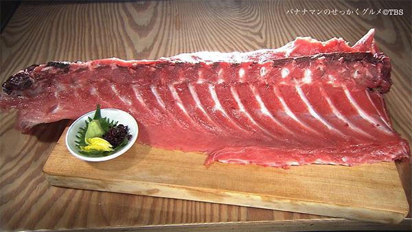 バナナマンせっかくグルメ グルメ 3月24日 石川 金沢 川端鮮魚店 本マグロ中落ち