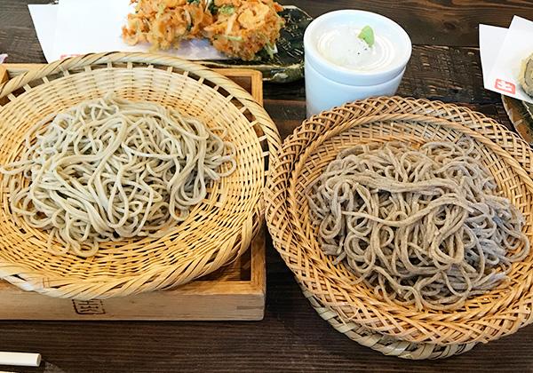 有馬 土山人 ミシュラン掲載 蕎麦 粗挽き 細挽き