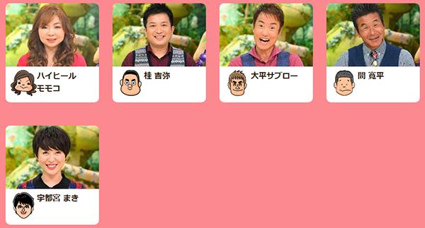 ちちんぷいぷい リニューアル 出演者 コーナー 司会者 MC 金曜日