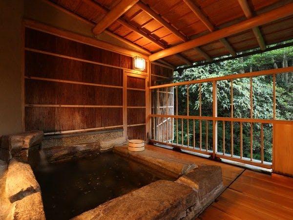 露天風呂付客室 西村屋ホテル 招月庭 城崎温泉