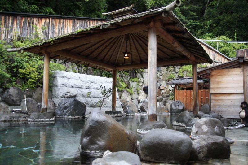 西伊豆 桜田温泉 山芳園 露天風呂 貸切風呂