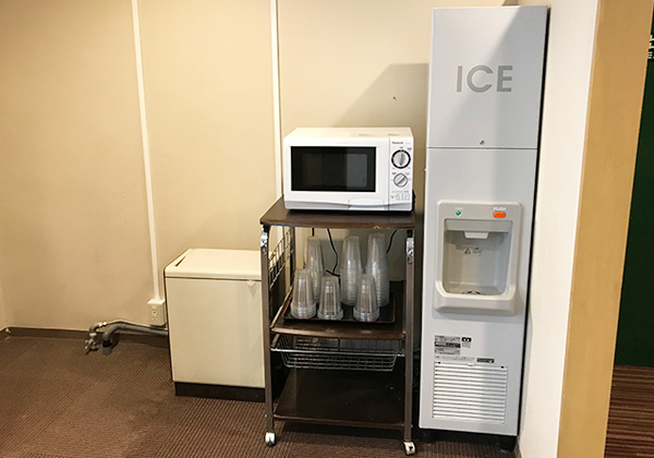 有馬きらり 製氷機 電子レンジ