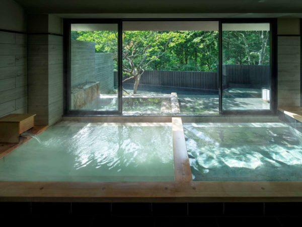 箱根 旅館 星野リゾート 界 仙石原 大涌谷温泉 大浴場