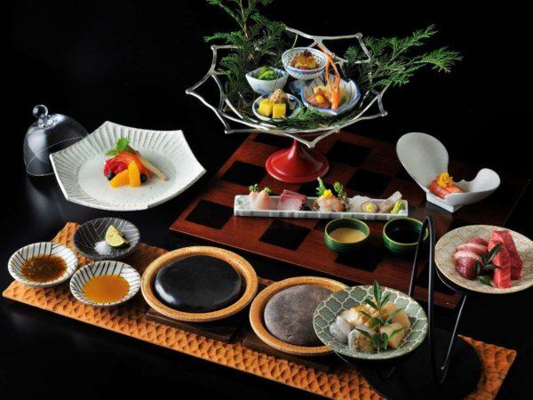 箱根 旅館 星野リゾート 界 仙石原 夕食