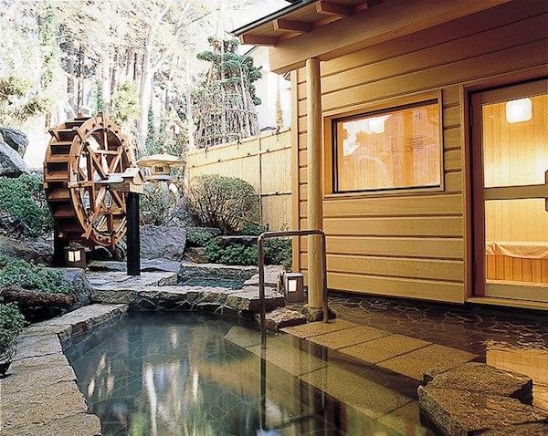 野沢温泉 旅館さかや 露天風呂