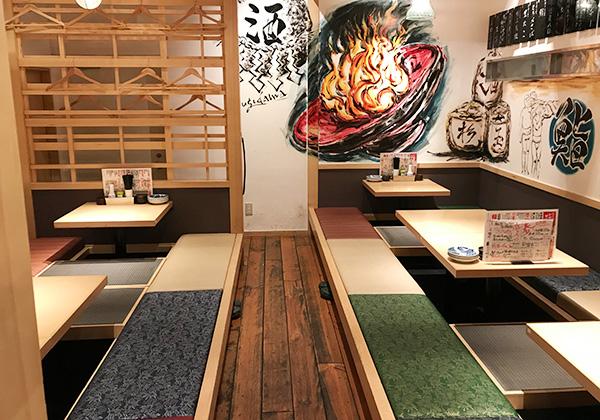 西宮北口 杉玉 寿司 居酒屋 テーブル 掘りごたつ 座敷