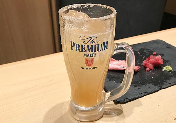 西宮北口 杉玉 寿司 居酒屋 塩サワー レモン×グレフル グレープフルーツ