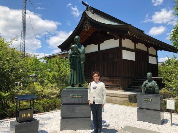 象山神社 佐久間象山 吉田松陰  銅像