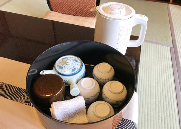 有馬温泉 有馬きらり 客室 スタンダードルーム お茶セット