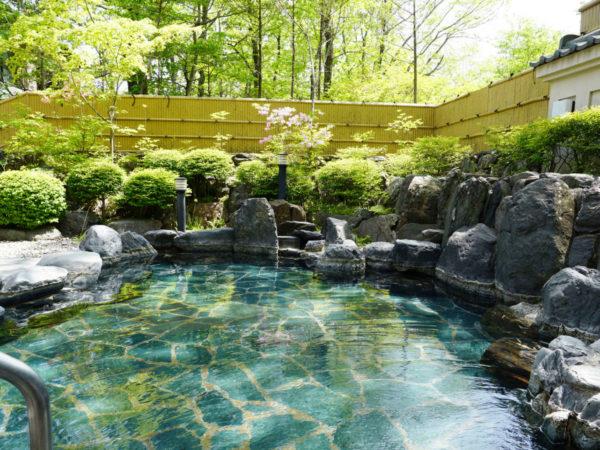 那須湯本温泉 ホテルブランヴェール那須 露天風呂