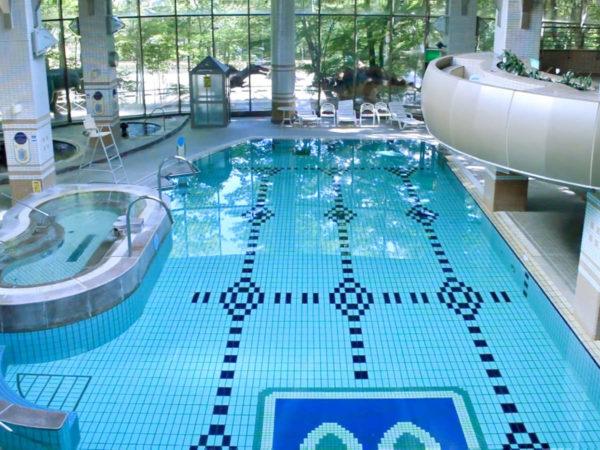 那須湯本温泉 ホテルブランヴェール那須 スパ プール