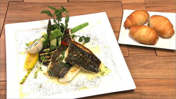 北海道 どうなんde's 木古内の鮮魚のポワレセット