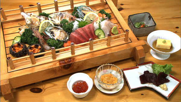 北海道 函館 漁火館 夕食