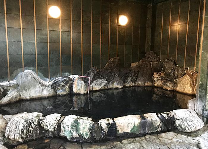 鳥取 三朝温泉 旅館 いわゆ 男湯