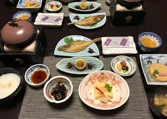 鳥取 三朝温泉 旅館 いわゆ 朝食