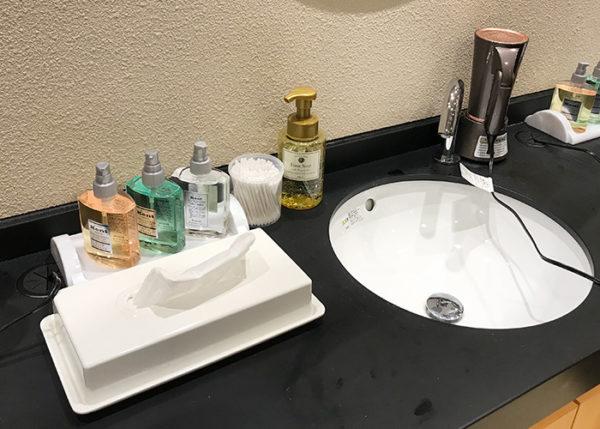 有馬温泉 ホテル 旅館 きらり 大浴場 男湯 洗面所