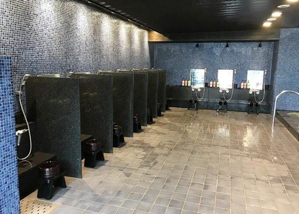 有馬温泉 ホテル 旅館 きらり 大浴場 男湯 洗い場