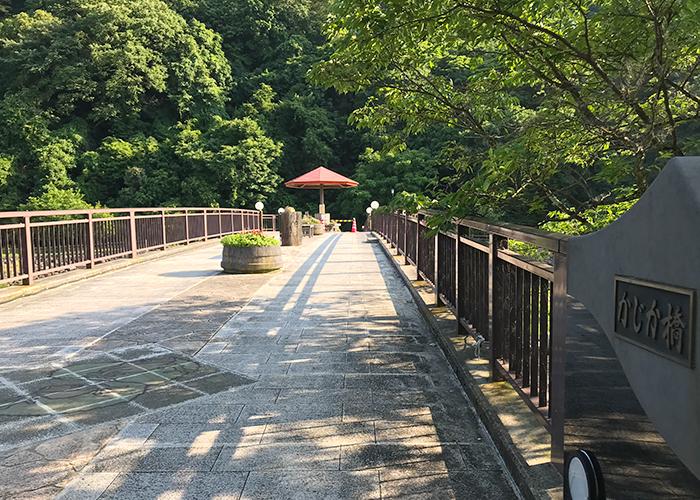 鳥取 三朝温泉 かじか橋 かじかの湯