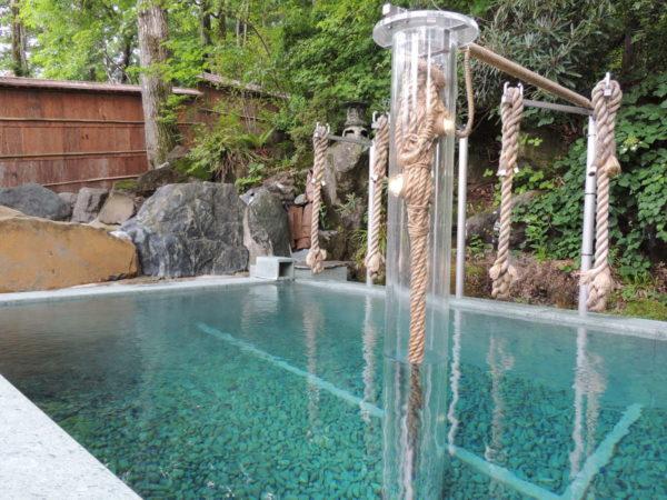 奥那須 大正村 幸乃湯温泉 綱の湯 立ち湯