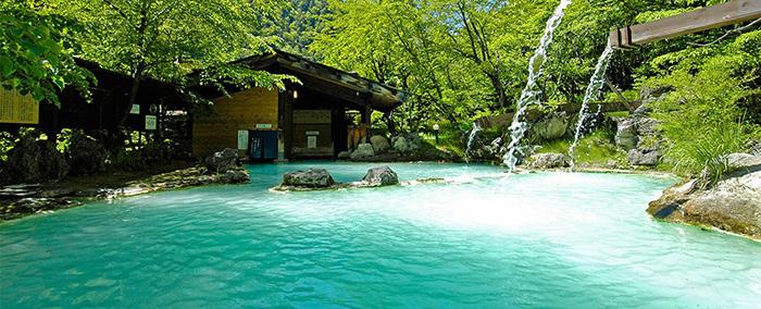 長野 松本 白骨温泉 秘湯の宿 泡の湯