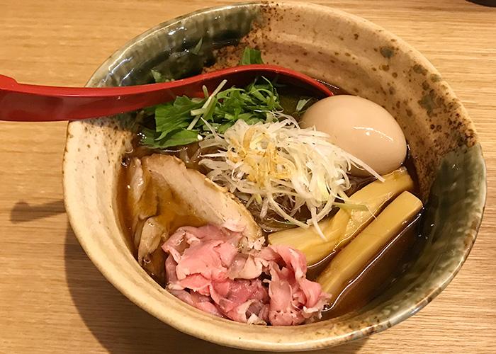 ジョーテラスオオサカ 大阪城下町 ラーメン小路 焼きあご塩らー麺 たかはし