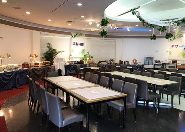 宝塚ホテル ビアガーデン 屋内席