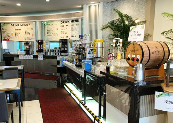 宝塚ホテル ビアガーデン ドリンクコーナー