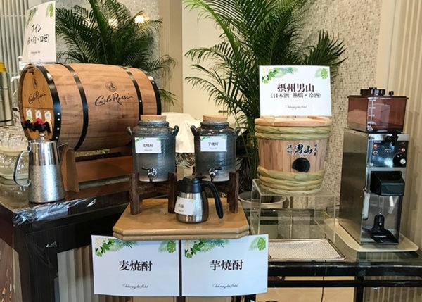 宝塚ホテル ビアガーデン 日本酒 焼酎