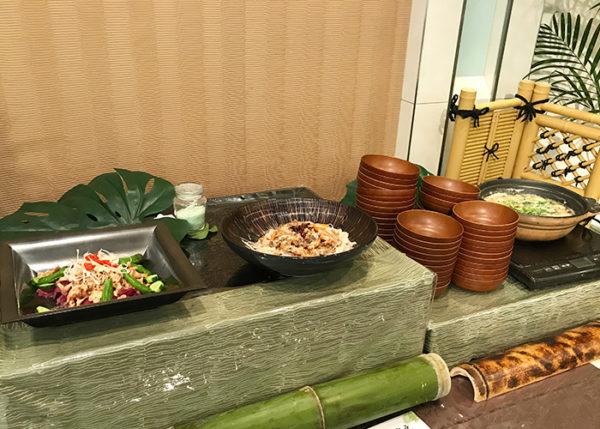 宝塚ホテル ビアガーデン 冷製料理