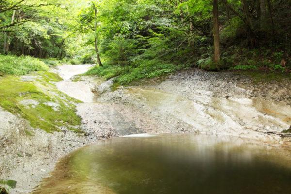 滑川渓谷 甌穴