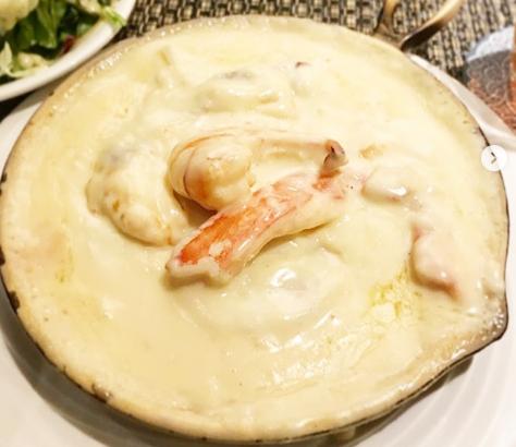 嵐にしやがれ 20周年 お祝いグルメデスマッチ 銀座古川 魚介類ノクリームシチュー