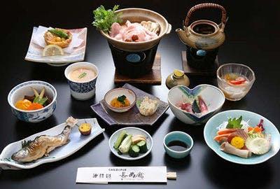 群馬 みなかみ町 法師温泉 長寿館 夕食