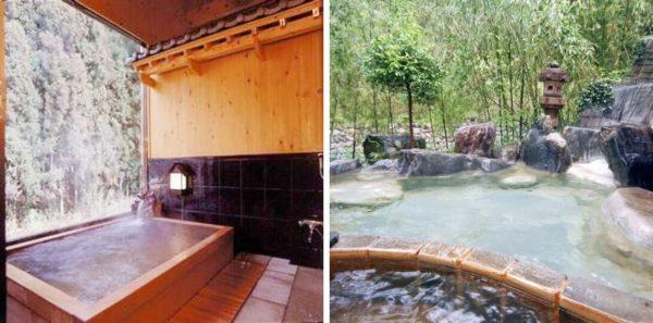 群馬 秘境 旅館 一軒宿 下仁田温泉 清流荘 天然温泉 露天風呂
