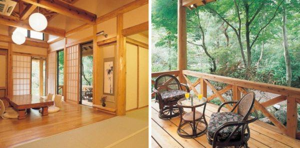 群馬 秘境 旅館 一軒宿 下仁田温泉 清流荘 客室