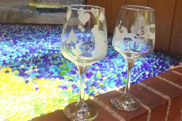 体験工房小樽イルポンテ ワイングラス作り
