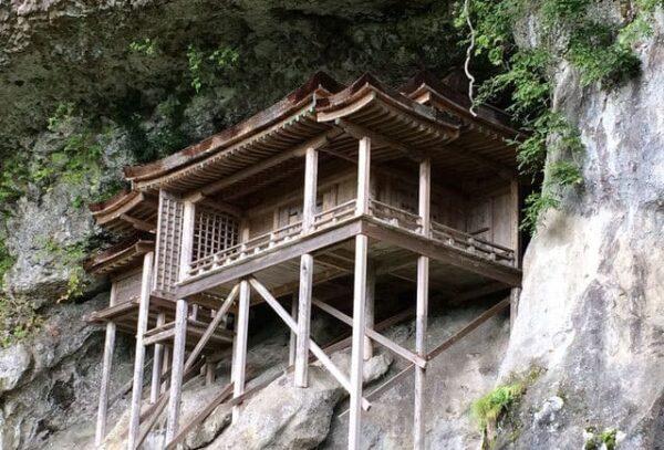 鳥取 三徳山 三佛寺 投入堂