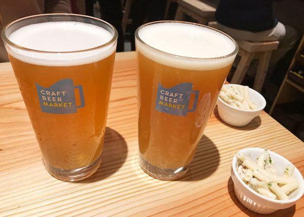 クラフトビアマーケット ホワイティうめだ 泉の広場 クラフトビール パイント