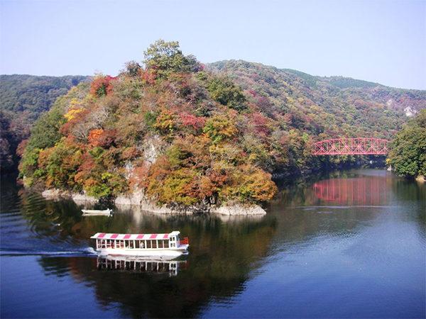 よ~いドン! たむらけんじ 商店街 いきなり日帰りツアー 広島 帝釈峡 遊覧船