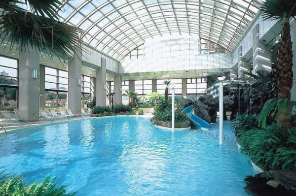 仙台 秋保温泉 ホテル瑞鳳 屋内プール