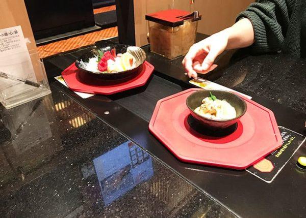 回転寿司 金沢まいもん寿司 吹田 個室 注文