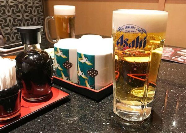 金沢まいもん寿司 生ビール