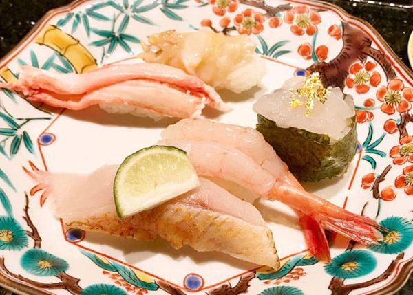 大阪 吹田 金沢まいもん寿司 加賀百万石握り