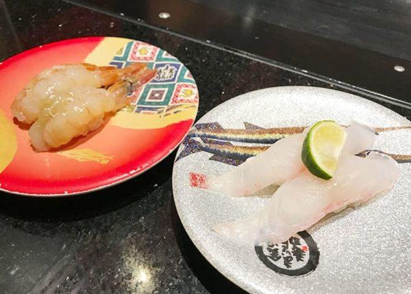 大阪 吹田 金沢まいもん寿司 がすえび なめら