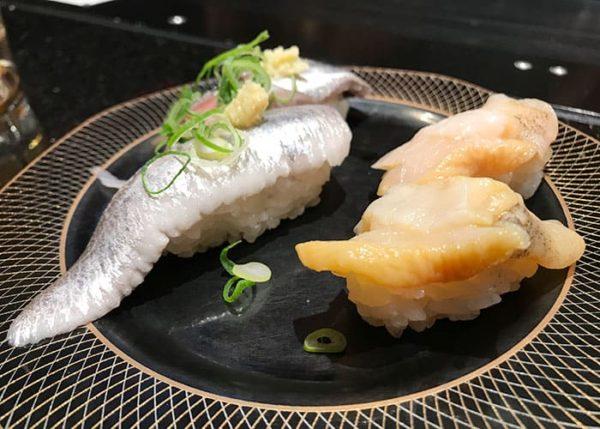 大阪 吹田 金沢まいもん寿司 てい貝 大羽いわし