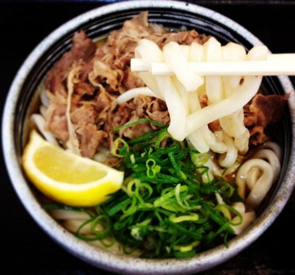 嵐にしやがれ ツーリング 瀬戸大橋 岡山 麺処 綿谷 牛肉ぶっかけ